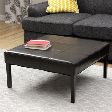 Leather Top Coffee Tables Houzz
