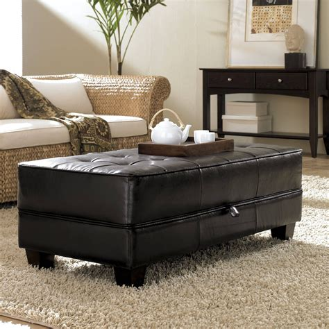 Leather With Storage Ottoman Buy or Sell Coffee Tables