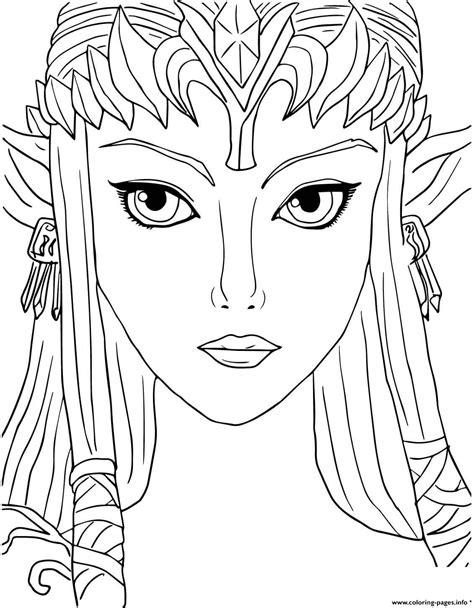 Legend of Zelda Twilight Princess coloring page Free