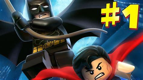 Lego Batman 2 DC Super Heroes Walkthrough Part 1 HD