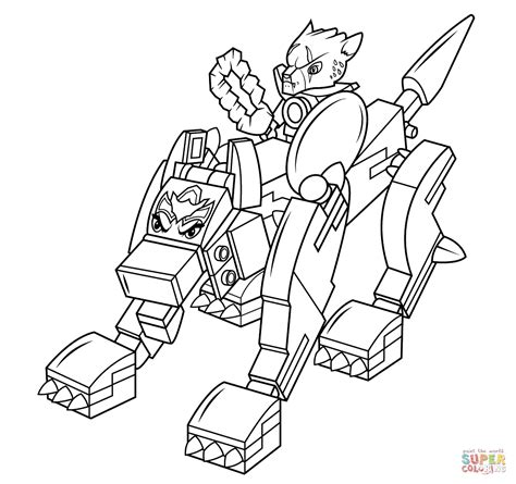 Lego Chima Wolf coloring page Free Printable Coloring Pages