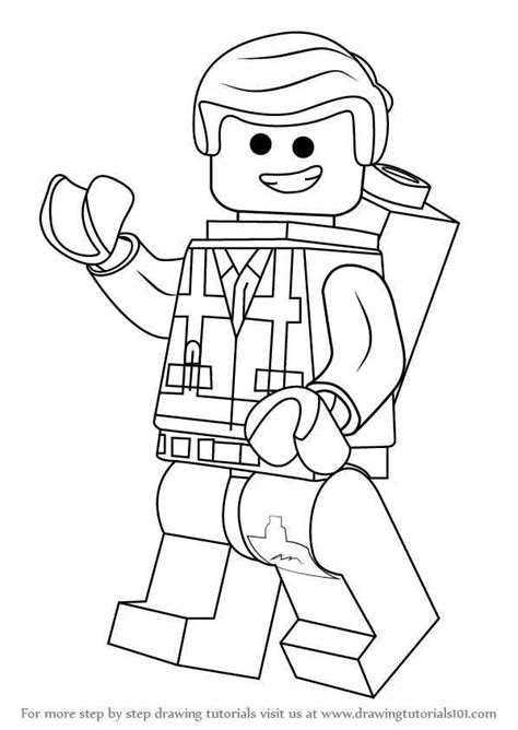 Lego Colouring Sheets Lego 3D Models and Resources