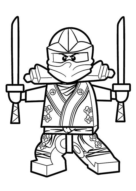 Lego Ninjago Coloring Pages HealthyChild