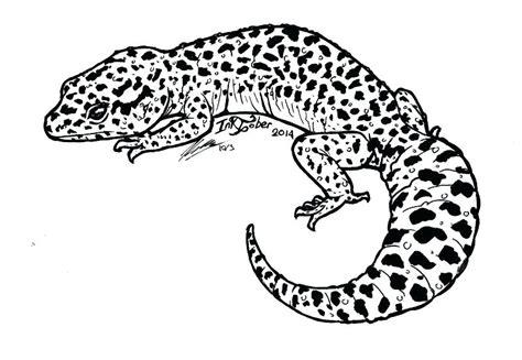 Leopard Gecko Coloring Pages tgfact