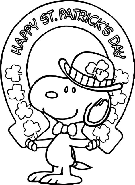 Leprechaun Coloring Pages for St Patrick Day