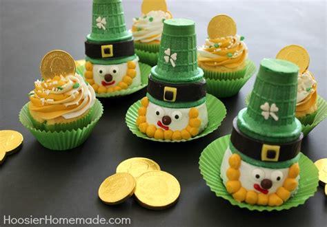 Leprechaun Cupcakes for St Patrick s Day Hoosier Homemade