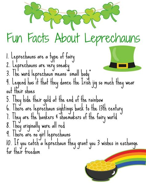 Leprechaun Facts for Kids that are Fun Wizzley