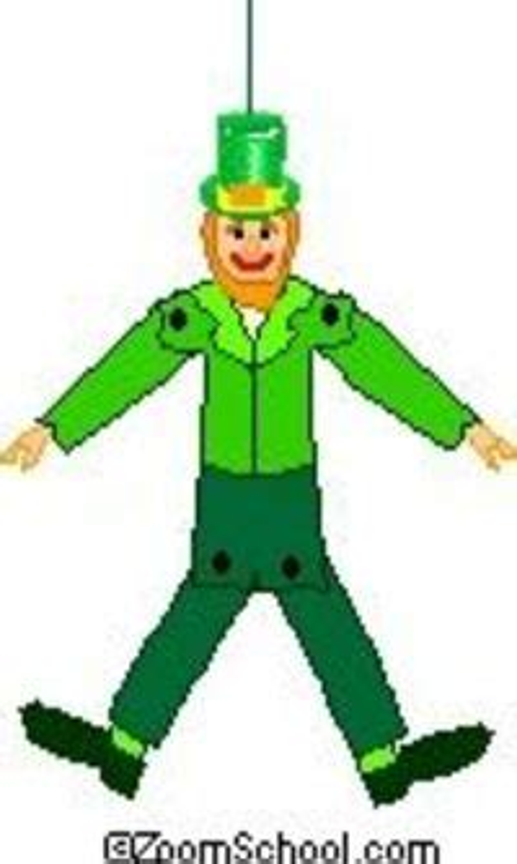 Leprechaun Marionette Enchanted Learning Software