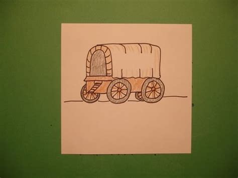 Let s Draw a Covered Wagon