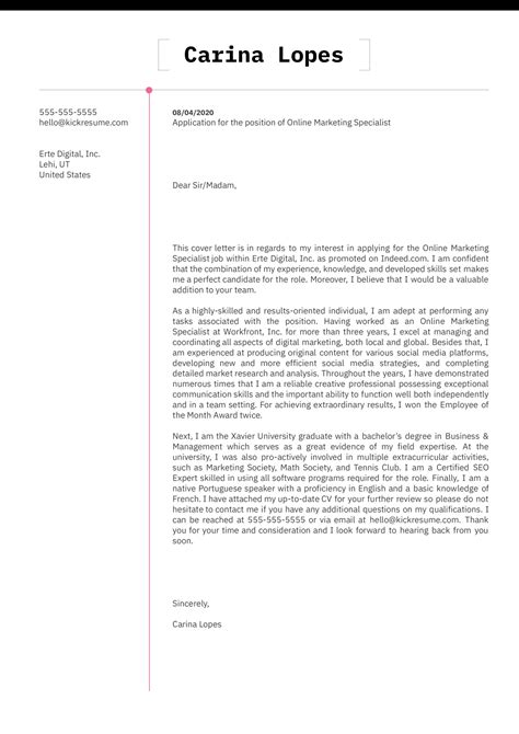 Let s See Your Best Cover Letter Cover Letter Samples