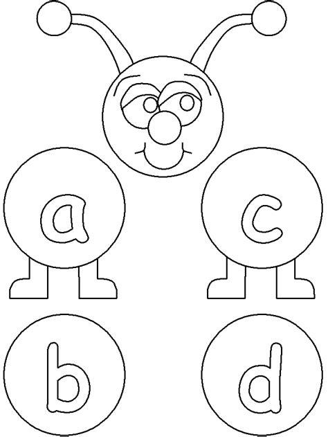 Letter A Animal Coloring Pages DLTK Kids