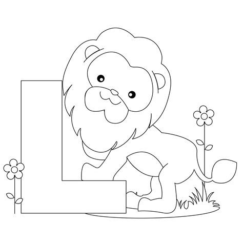Letter L Animal Coloring Pages