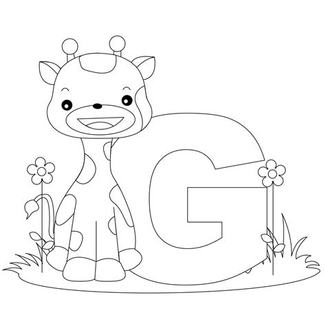 Letter P and Letter Q Animal Coloring Pages DLTK Kids