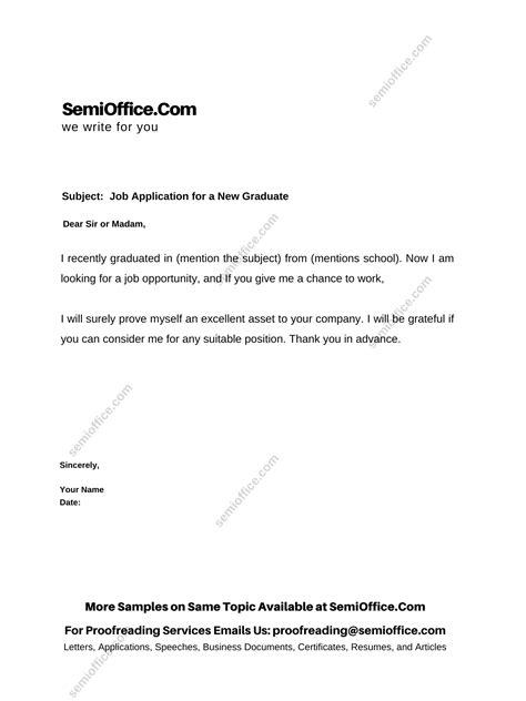 Letter Sample and Sample Letter Formats SemiOffice Com