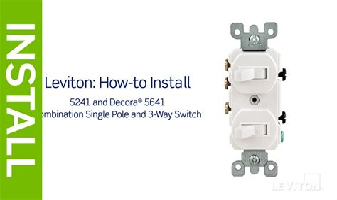 leviton light switch wiring diagram single pole leviton how to install a single pole light switch leviton blog images on leviton light switch wiring