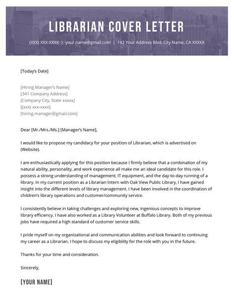 Librarian cover letter Career FAQs