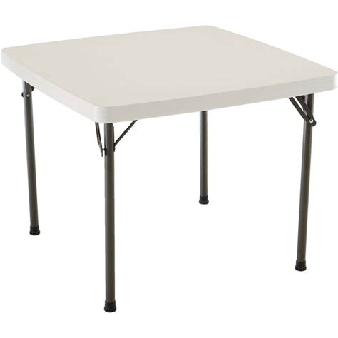 Lifetime 37 Square Folding Table Walmart
