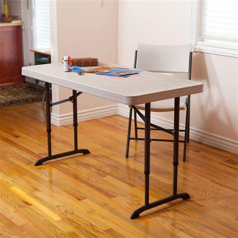 Lifetime 4 Fold In Half Adjustable Table Walmart