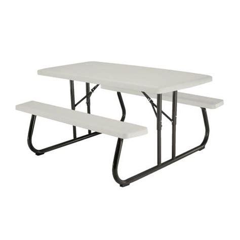 Lifetime 5 Folding Picnic Patio Table at Menards