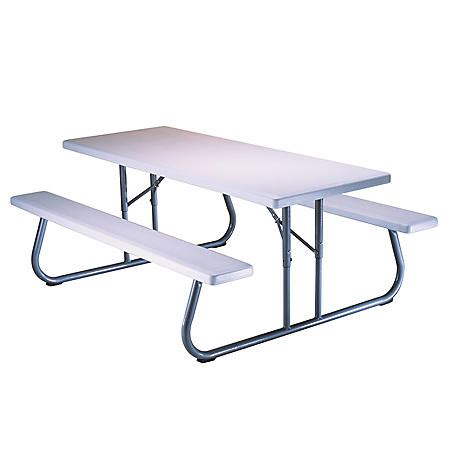 Lifetime 6 Single Folding Picnic Table Sam s Club