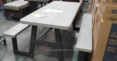 Lifetime 6 ft Folding Picnic Table 10 pack Costco
