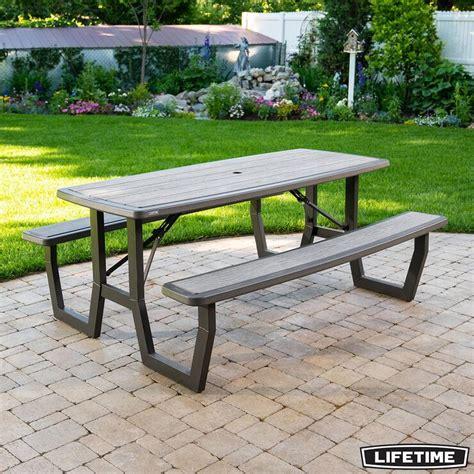 Lifetime 6 ft Folding Picnic Table Costco