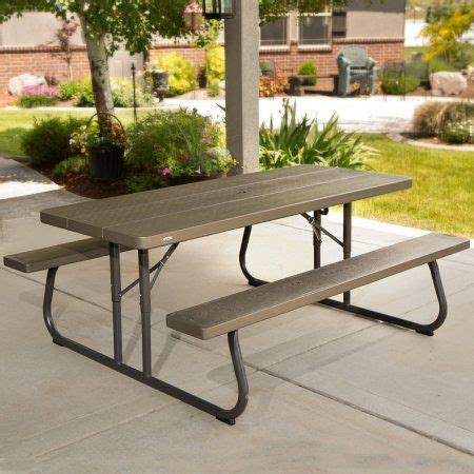 Lifetime 8 Commercial Foldable Picnic Table BJ s
