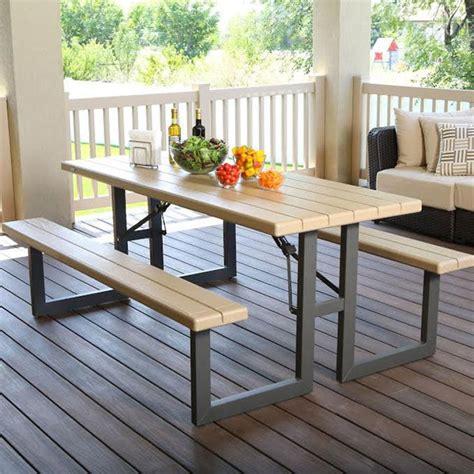 Lifetime 8 Seater 6ft 1 8m Folding W Frame Picnic Table