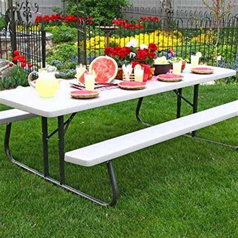 Lifetime 8 ft Folding Picnic Table costco ca