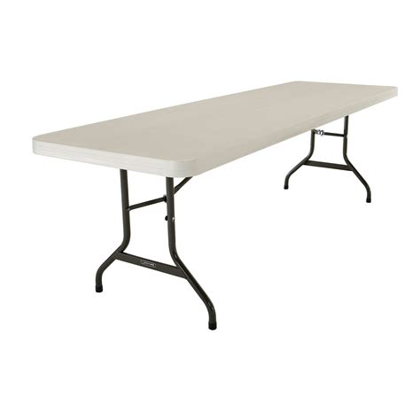 Lifetime 96 Rectangular Folding Table Walmart
