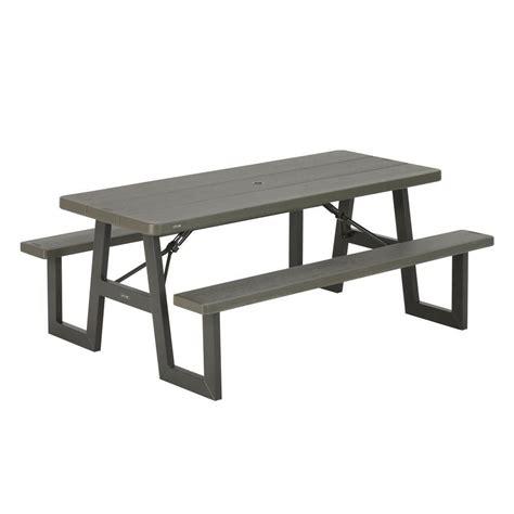 Lifetime Folding Picnic Table Picnic Tables Ace Hardware