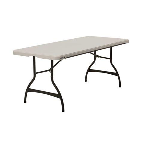 Lifetime Plastic Folding Banquet Table 6 Feet The Home
