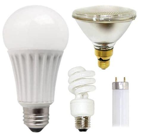 Light Bulbs HID CFL Fluorescent Incandescent Halogen