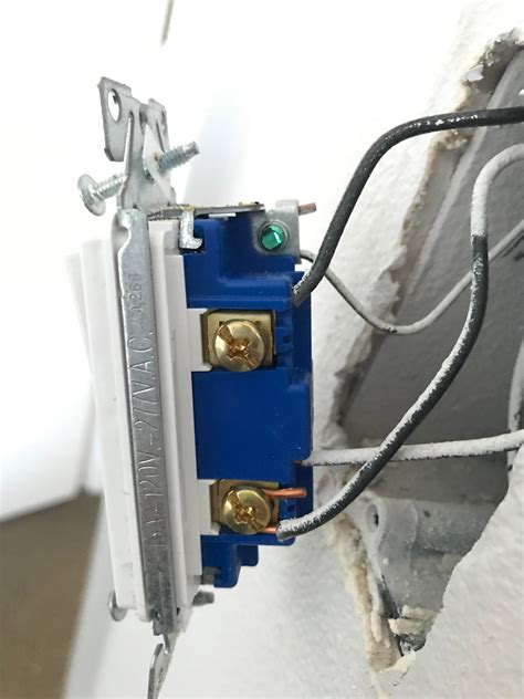 Light Switch Light wiring