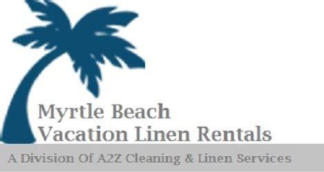 Linen Rental Services in Myrtle Beach Vacation Rental