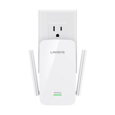 Linksys AC750 Boost Wireless Range Extender White
