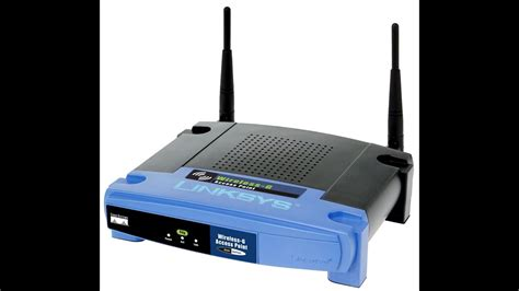Linksys WAP54G Wireless G Access Point Basic Configuration