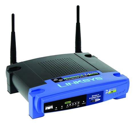 Linksys WRT54G Wireless G Router Not Connecting to