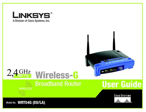 Linksys Wireless G Router WRT54G User s Guide GoWave