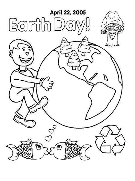 List of Earth Day pictures coloring