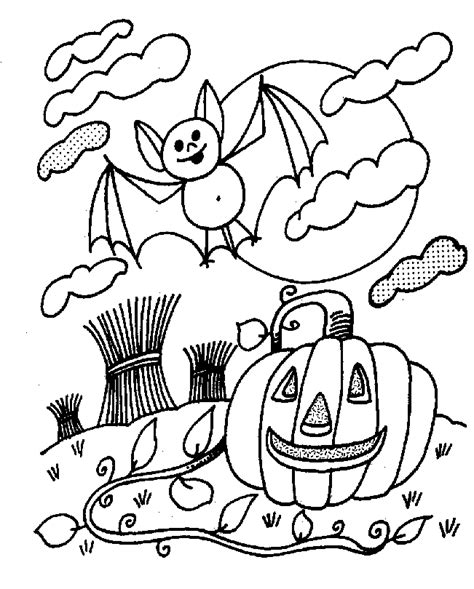 List of Halloween pictures coloring