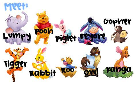 List of Winnie the Pooh characters Wikipedia