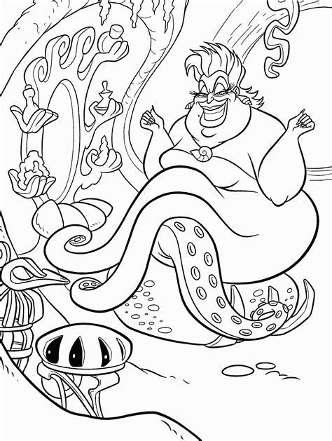 Little Mermaid Coloring Pages GetColoringPages