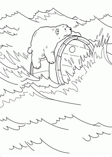 Little Polar Bear coloring pages on Coloring Book info