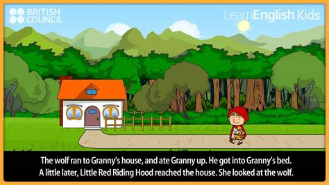 Little Red Riding Hood Kids Stories LearnEnglish Kids