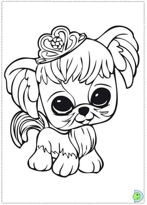Littlest Pet Shop Coloring Pages for Kids Free Printable