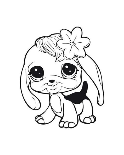 Littlest Pet Shop coloring pages Free printable coloring