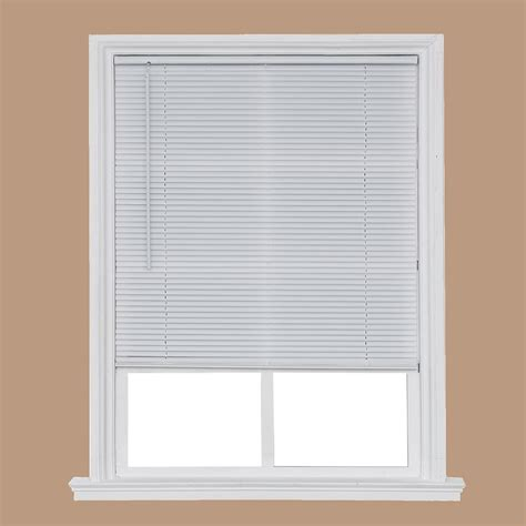 Living Accents Vinyl Mini Blinds in White ACE Hardware