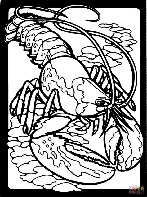 Lobsters coloring pages Free Coloring Pages