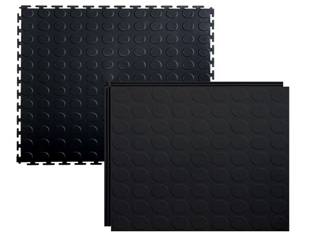 LockTile Interlocking PVC floor tiles